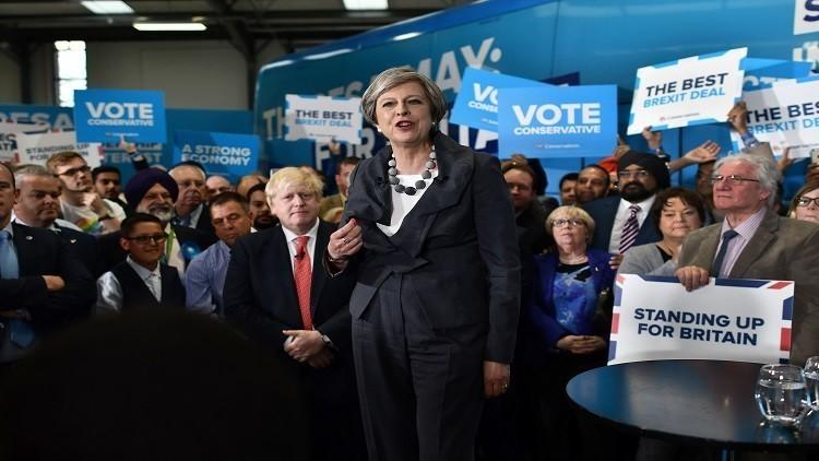 استطلاع رأي الناخبين يظهر تقدم حزب المحافظين بالانتخابات البرلمانية البريطانية