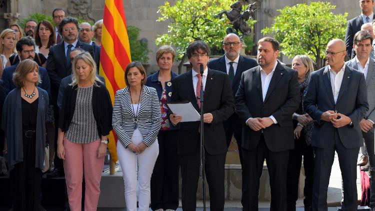 إقليم كتالونيا يجري استفتاء حول الاستقلال عن إسبانبا في 1 أكتوبر