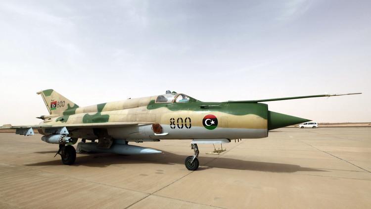 طائرات عسكرية في ليبيا
