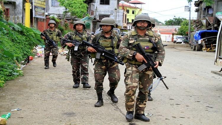 قوات أمريكية تساند الجيش الفلبيني في مواجهة إرهابيين