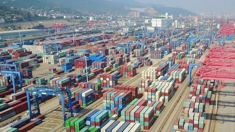 ارتفاع فائض ميزان التجارة الخارجية الروسي