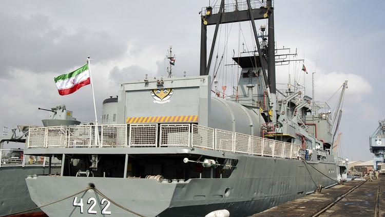 سفينتان حربيتان إيرانيتان تبحران إلى سواحل الخليج