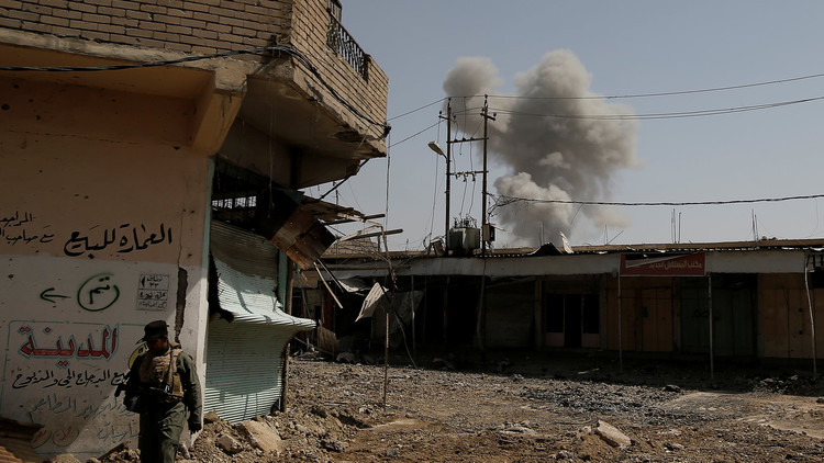 ضربة للتحالف تدفن 20 مدنيا تحت الأنقاض في الموصل