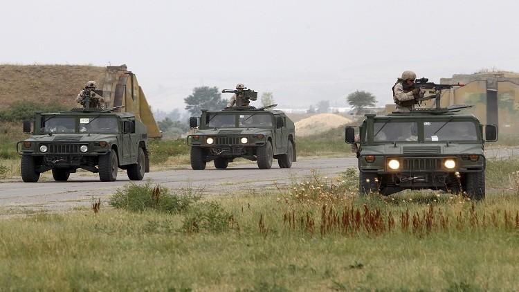 انقلاب صهريج وقود للجيش الأمريكي في لاتفيا