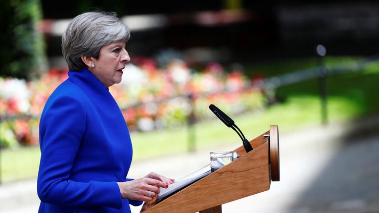 رئيسة الوزراء البريطانية تعلن تشكيلتها الحكومية الجديدة