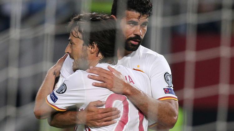 تصفيات كأس العالم: إسبانيا تتخطى مقدونيا وإيطاليا تقسو على ليختنشتاين