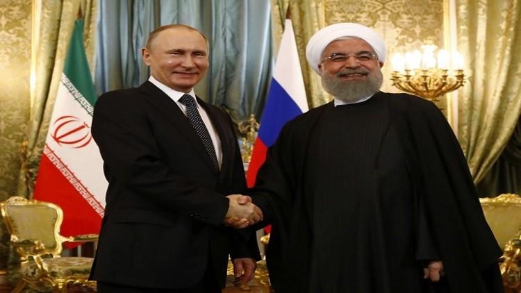 روحاني مهنئا بوتين: نأمل في تطوير التعاون على جميع الأصعدة