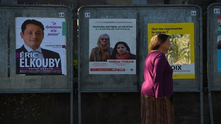 نصف الفرنسيين يتجاهلون الانتخابات التشريعية