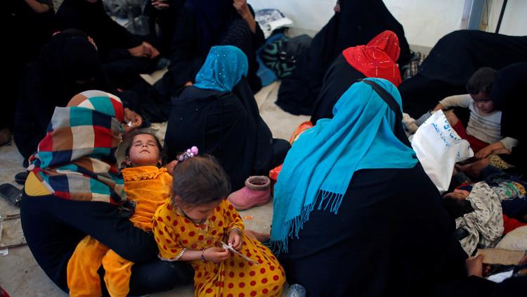 إصابة المئات من نازحي الموصل بالتسمم خلال الإفطار
