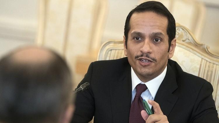 وزير خارجية قطر: تخفيف التوتر في سوريا هدف مشترك للدوحة وموسكو