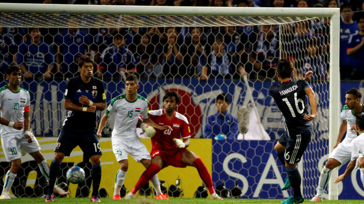 تشكيلة العراق واليابان ضمن تصفيات مونديال 2018
