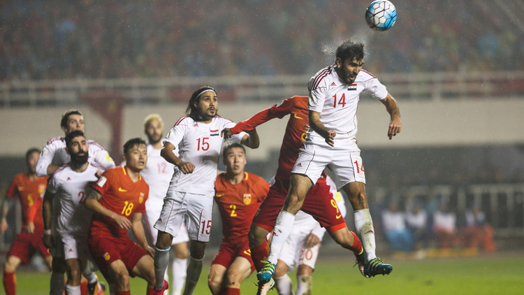 تشكيلة سوريا والصين ضمن تصفيات مونديال 2018