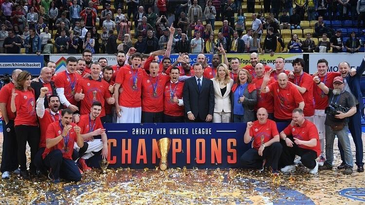 تسيسكا موسكو بطلا للدوري الروسي لكرة السلة
