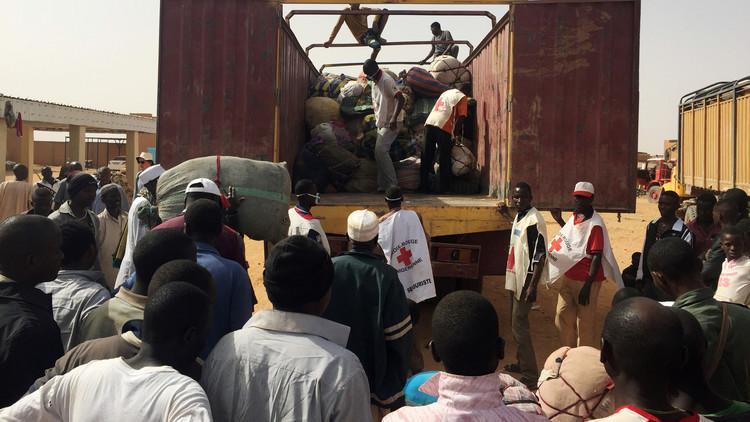 النيجر تنقذ 92 مهاجرا في الصحراء الكبرى