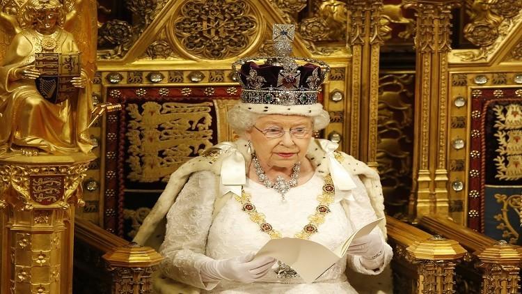 الماعز يتسبب بتأجيل الخطاب الملكي البريطاني