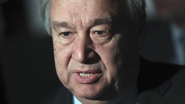 غوتيرش يهاتف نائب رئيس الوزراء الكويتي بشأن قطر