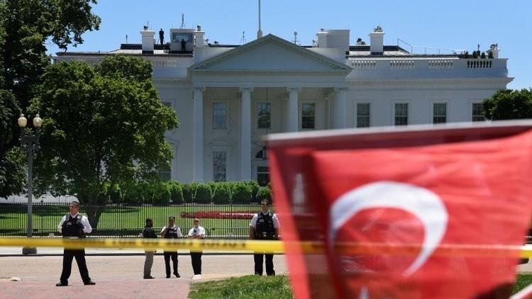 اعتقال شخصين على صلة بأعمال عنف خلال زيارة أردوغان لواشنطن