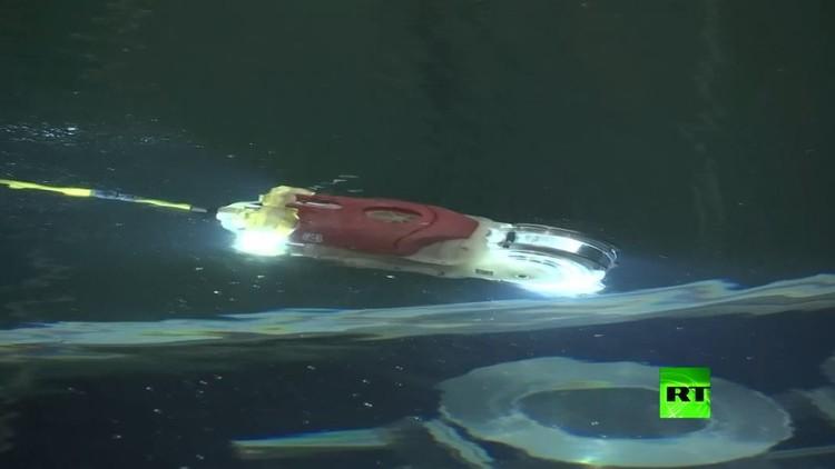 اليابان تصنع روبوتا لإجراء فحوص تحت الماء داخل مفاعل فوكوشيما النووي