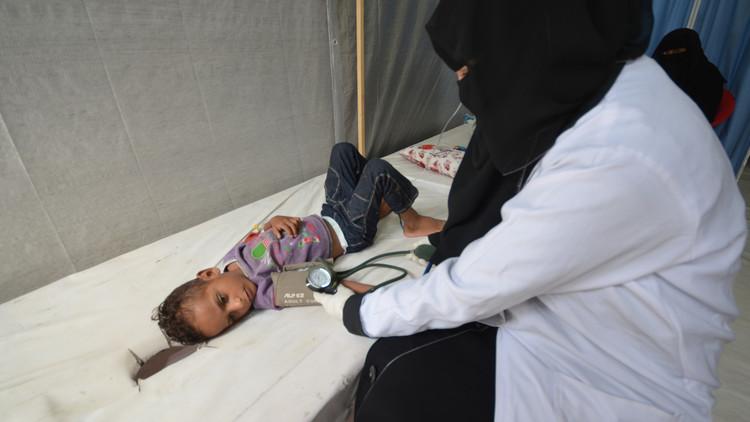 ملايين الدولارات السعودية لمكافحة الكوليرا في اليمن
