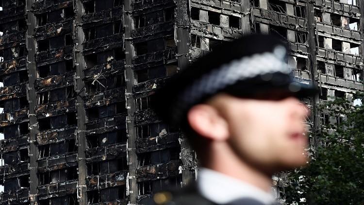 ثلاجة معطلة سبب كارثة برج لندن! (صور)