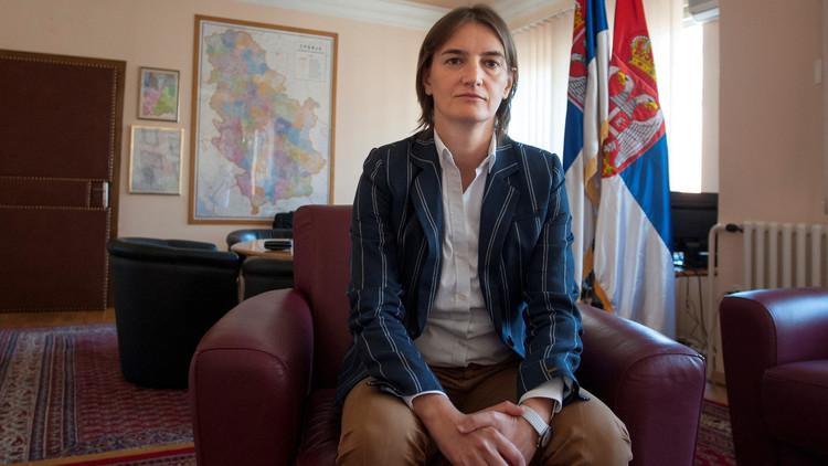 رئيسة الحكومة الصربية الجديدة