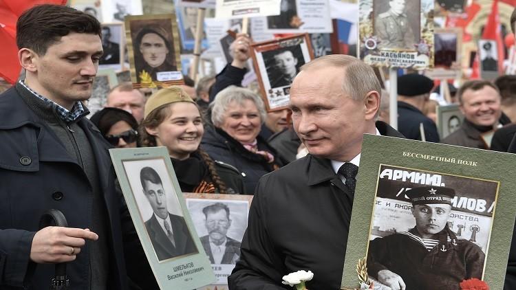 بوتين فخور بأمه وبأبيه الذي أطلق عليه لقب