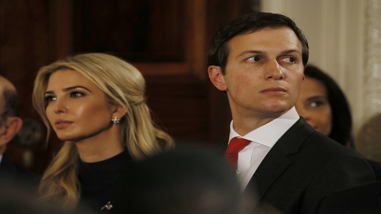 التحقيق مع زوج إيفانكا ترامب