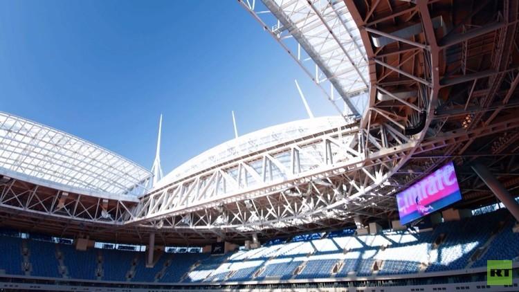 كأس القارات ينطلق غدا من ملعب كريستوفسكي في سان بطرسبورغ