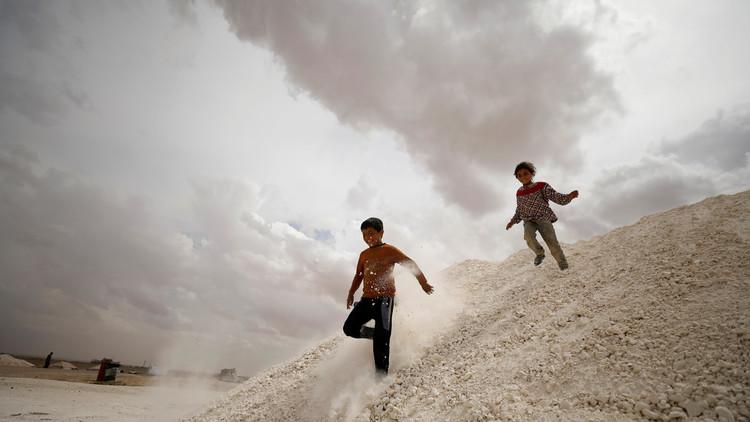 اليونيسيف على وشك تجميد برنامج مساعدة أطفال سوريا