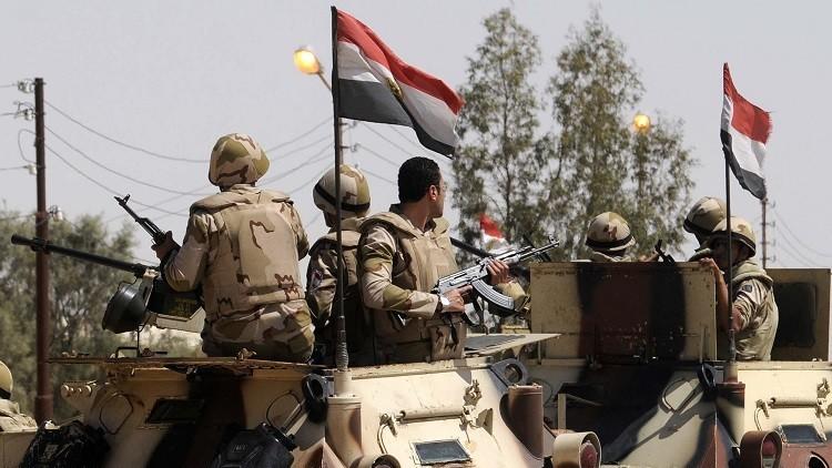 الجيش المصري يعلن مقتل 3 عناصر مسلحة في سيناء