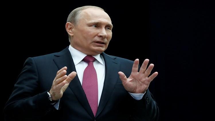 بوتين: واشنطن نفضت يديها في آخر لحظة من اتفاق عمل مشترك معنا بسوريا