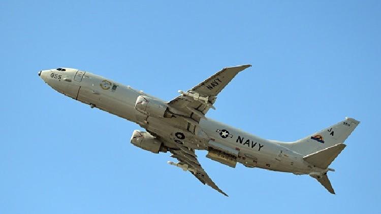 طائرة حربية أمريكية تجري مهمة تجسس بالقرب من الحدود الروسية