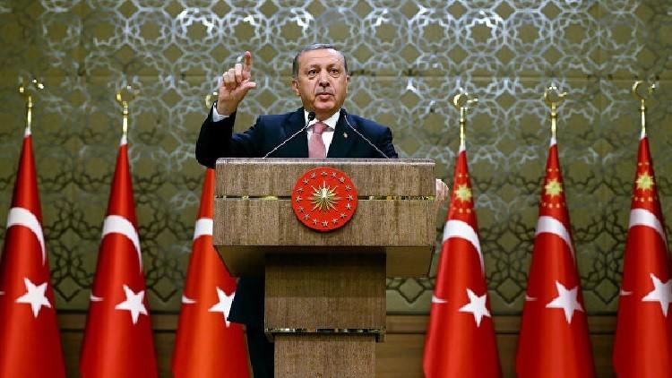 أردوغان يتوعد زعيم المعارضة التركية