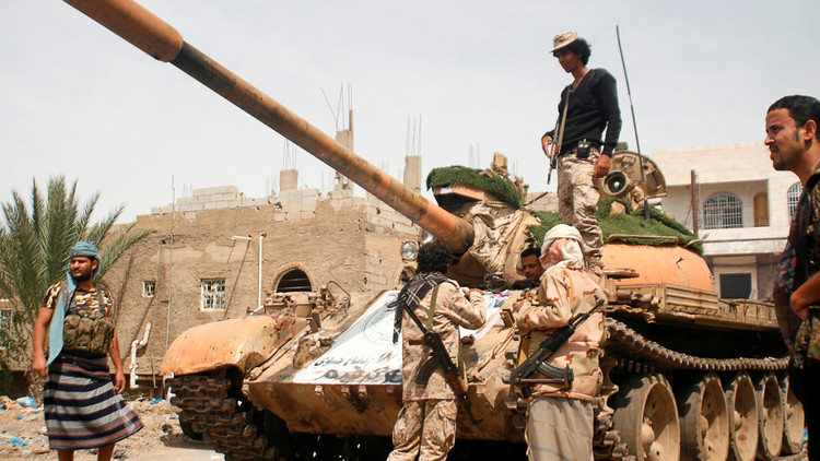 قوات هادي تسيطر على مواقع جديدة غرب تعز