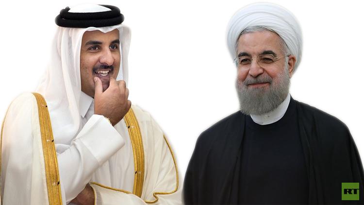 ما فحوى رسالة الرئيس الإيراني لأمير قطر؟