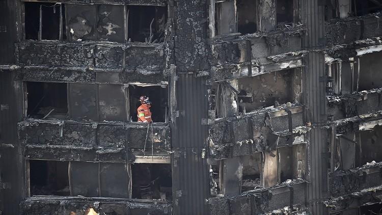 باريس تعرض المساعدة لتحديد أسباب حريق لندن