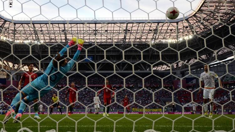 كأس القارات 2017 .. لا غالب ولا مغلوب في مباراة البرتغال والمكسيك