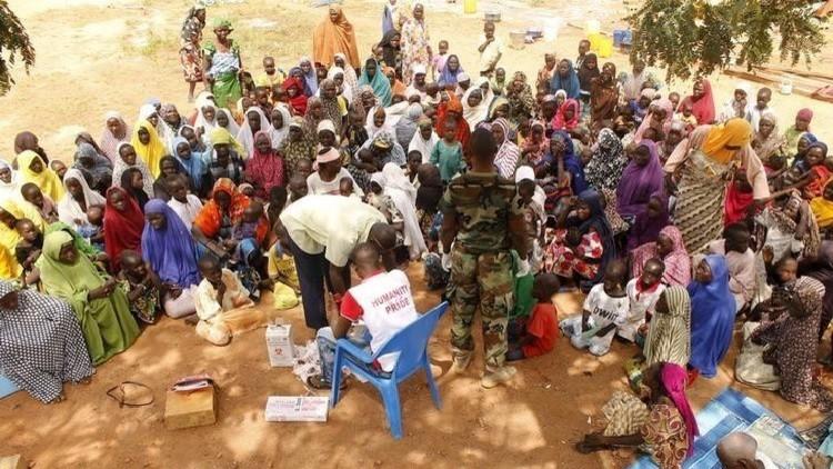 نيجيريا: نصف المساعدات الإنسانية لم تصل إلى ضحايا
