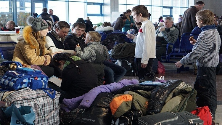 روسيا الخامسة أوروبيا في استقبال اللاجئين