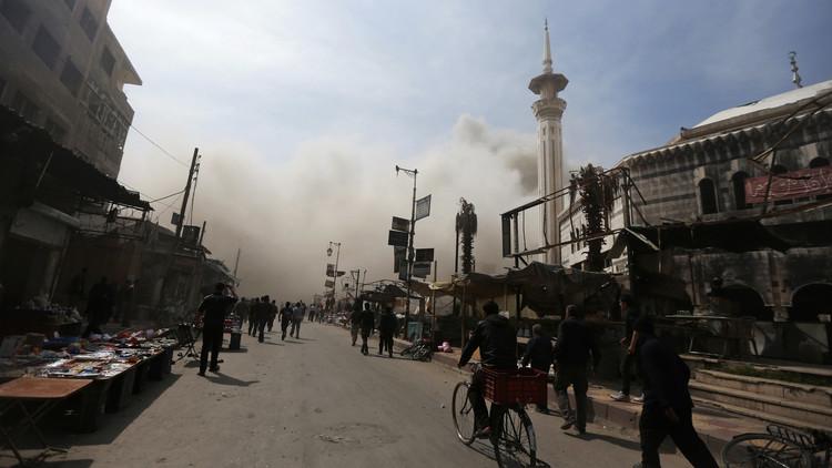 تصعيد ميداني بريف دمشق والطرفان يتبادلان التهم