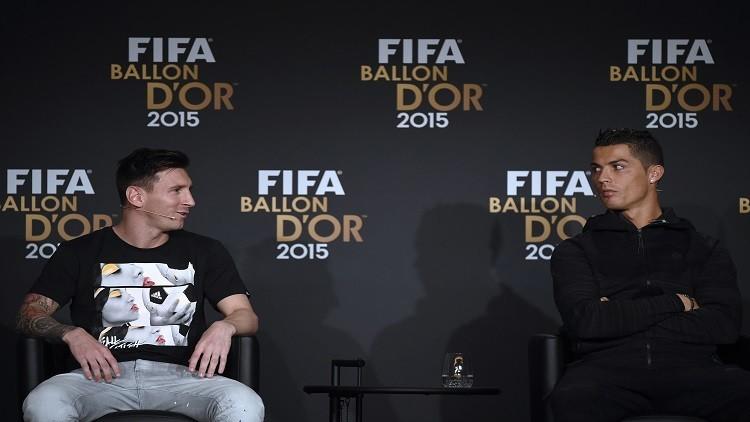 مارادونا يفضل ميسي على رونالدو