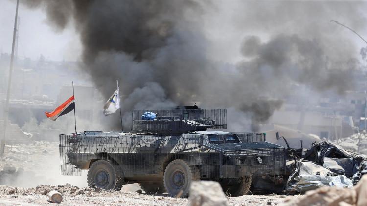 القوات العراقية توسع سيطرتها في الساحل الأيمن للموصل