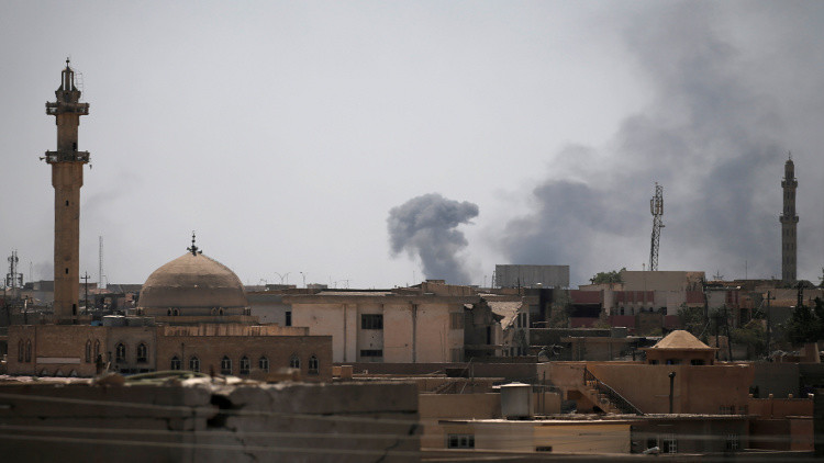 القوات العراقية تقتحم قلب المدينة القديمة في الموصل