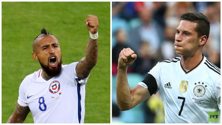 كأس القارات 2017.. نهائي مبكر بين ألمانيا وتشيلي