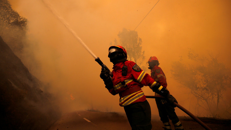 حرائق البرتغال المدمرة قد تكون بفعل فاعل!
