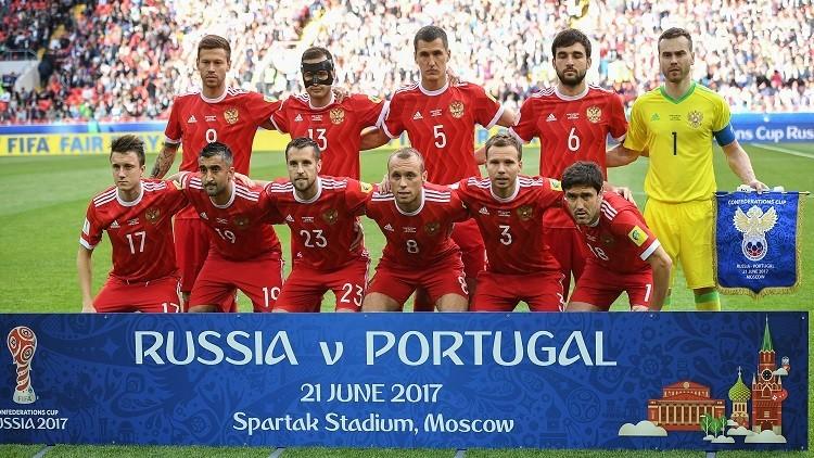 المنتخب الروسي يلغي تدريباته بعد الخسارة أمام البرتغال