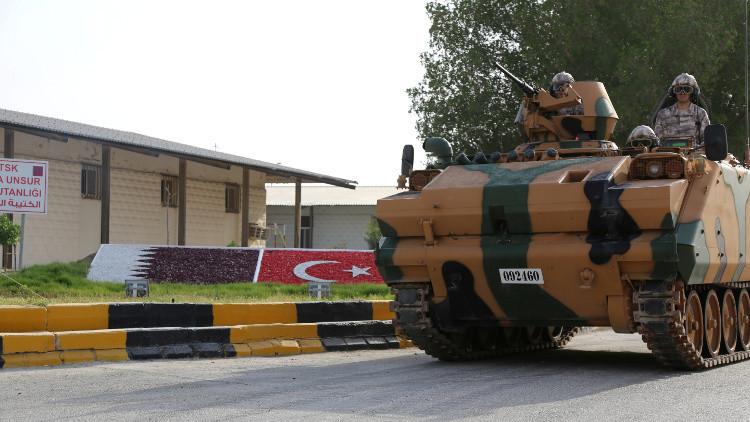 طلائع الجيش التركي تصل الدوحة