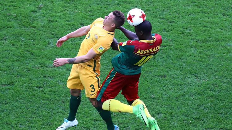 كأس القارات 2017.. التعادل سيد الموقف بين أستراليا والكاميرون