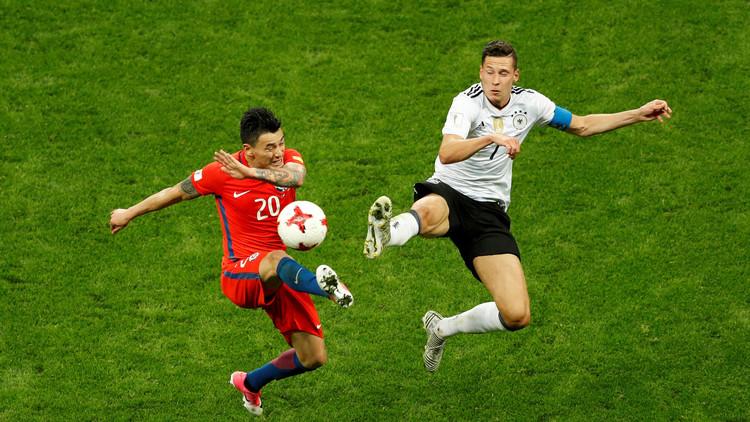 كأس القارات 2017.. تعادل مثير بين تشيلي وألمانيا