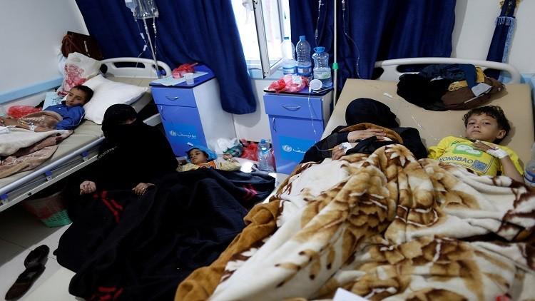 اليونيسف: 300 ألف إصابة كوليرا في اليمن خلال شهرين